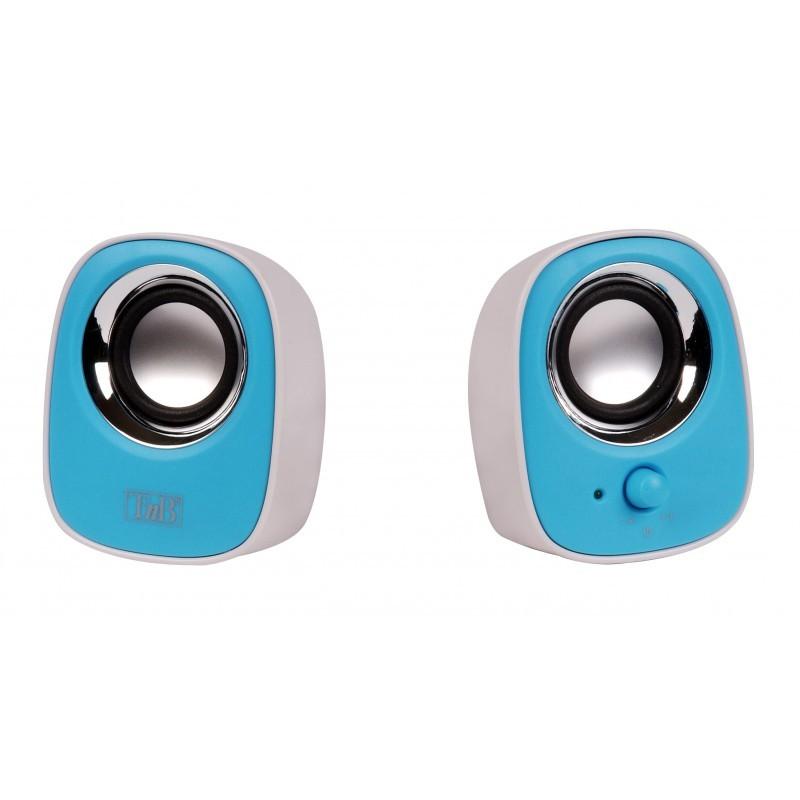 Systém 2.0 T'nB 2.0 MX Series, modrý