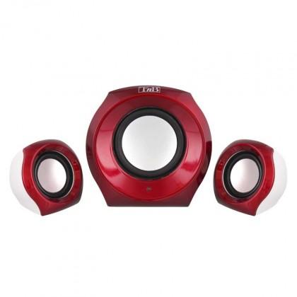 Systém 2.1 T'nB 2.1 Speaker Set JUKE, červený