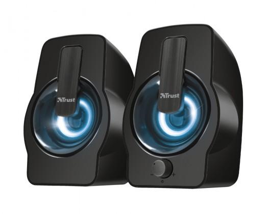 Systém 5.0 a viac Gemi RGB 2.0 Speaker Set - black