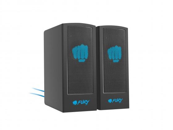 Systém 5.0 a viac Herné reproduktory FURY Skyray 2.0, 5W, čierna