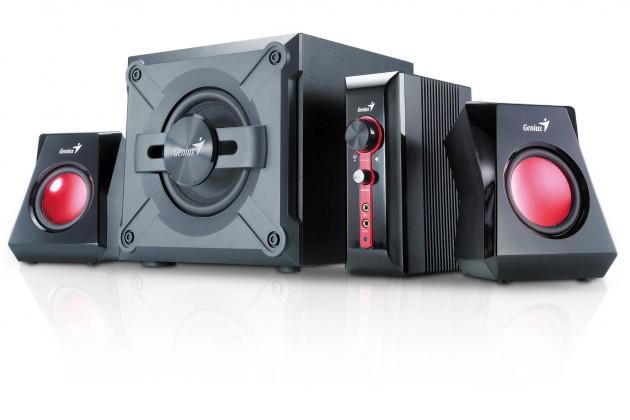 Systém 5.0 a viac PC reproduktory Genius GX Gaming 2.1