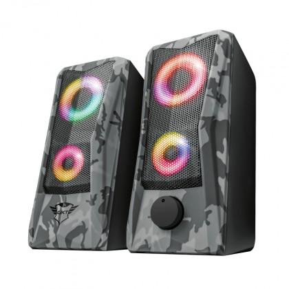 Systém 5.0 a viac Reproduktory Trust GXT 606 JAVV RGB, 2.0, 12W, maskáčové POUŽITÉ,