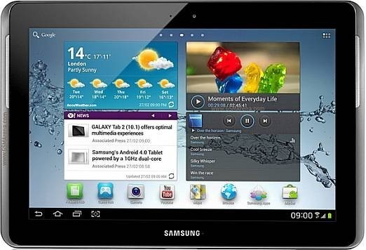 Tablet Samsung Galaxy Tab 2 (P5110), strieborný