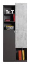 Tablo - skriňa, 2x dvere (grafit/enigma)