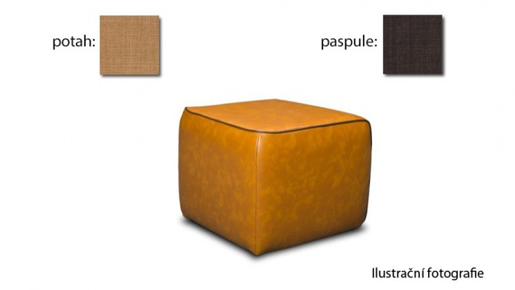 Taburet Case - (k:chili - brown C222,sk.2s/m:chili - corn C225,sk.2s)