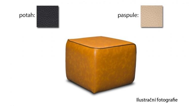 Taburet Case -(k:excellent-vanilka H359,sk.2s/m:excellent-black H360,2s)