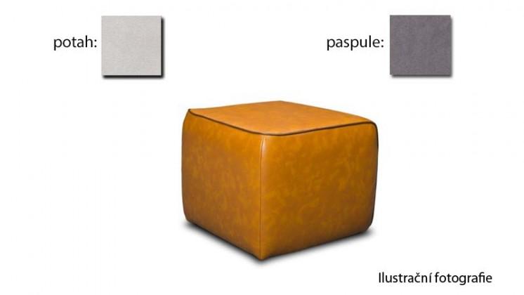 Taburet Case -(k:newlucca-darkgreyP701,sk.2s/m:newlucca-snow P706,sk.2s)