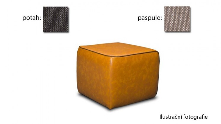 Taburet Case - (k:platin-sand C123, sk.2s/m:platin-chocolat C126, sk.2s)