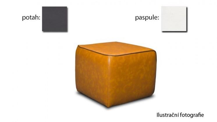 Taburet Case - (k:pulse - white D200,sk.2s/m:pulse - fango D208,sk.2s)
