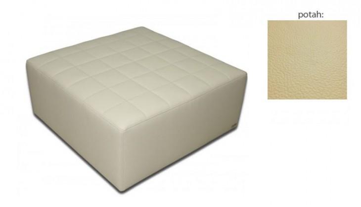 Taburet čtvercový(hermes cream sk. VII)