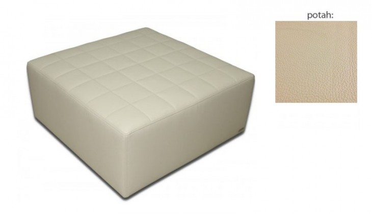 Taburet čtvercový(hermes sand sk. VII)