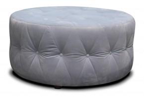 Taburet Luxury kruh (látka)