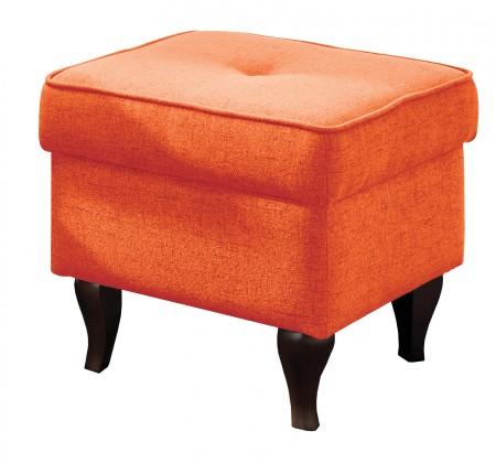 Taburet Taburetka Flo štvorec oranžová
