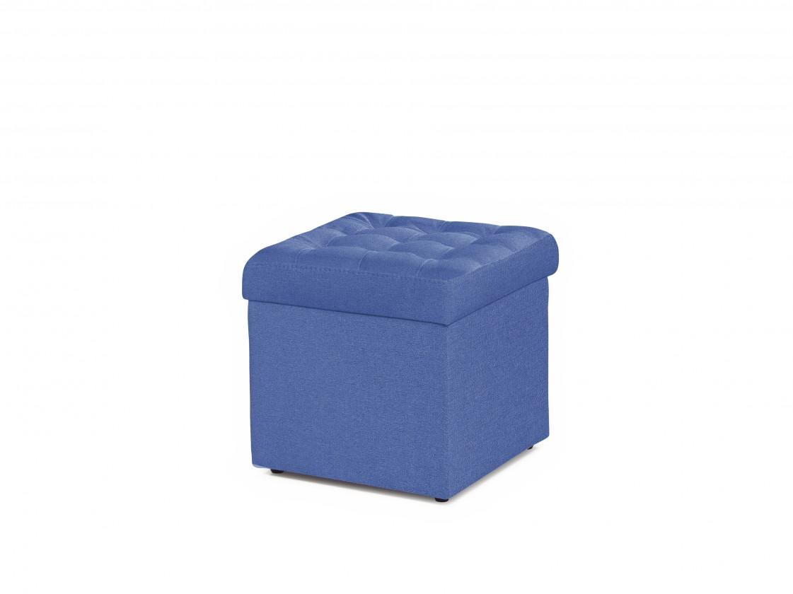 Taburet Taburetka Surprise štvorec modrá ÚP