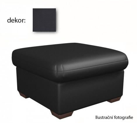 Taburet York - taburet(extraleather black, sk. III)