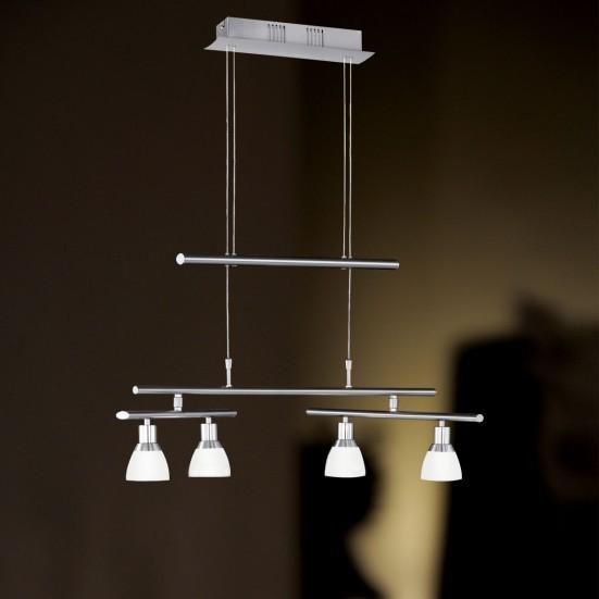 Talas - Stropné osvetlenie, LED (matný nikel)