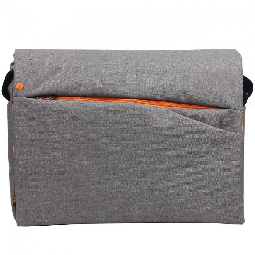 """Taška CANYON stylová taška přes rameno pro notebook 15-16"""", šedá"""