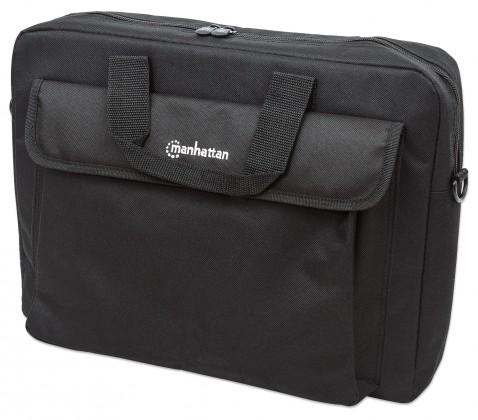 Taška Manhattan taška pre notebooky, London Briefcase, polyester, čiern