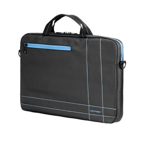 "Taška na notebook Continent 15,6"", šedá/modrá"