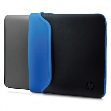 Taška na notebook Puzdro na notebook HP 14'', Neoprene Sleeve, čierna/modrá