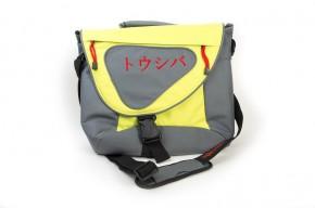 """Taška na notebook Toshiba 15,6"""", sivá / zelená"""