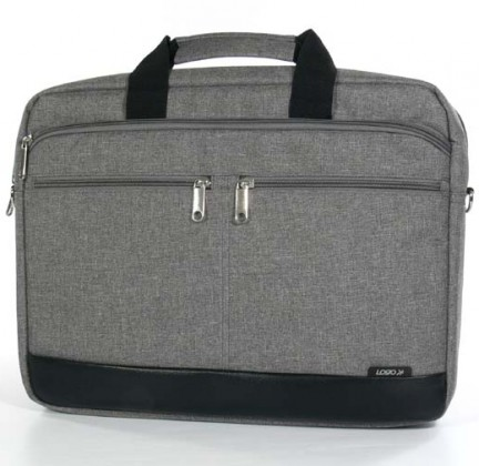 """Taška na notebook Trendy taška na notebook,15,6"""",popruh na rameno,šedá z plátna"""