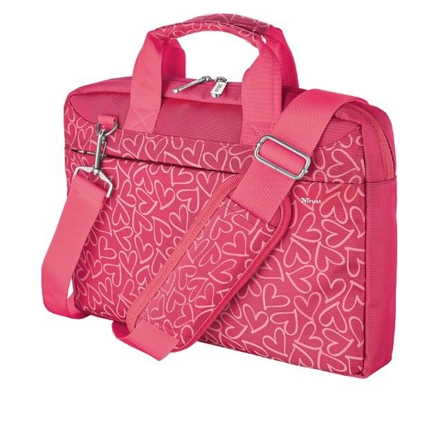 "Taška Taška Trust 21163 13,3"" pink hearts"