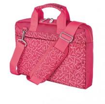 """Taška Trust 21163 13,3"""" pink hearts"""