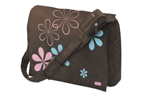 "Taška  Trust Madrid 15.6"" Notebook Messenger Bag - Brown"