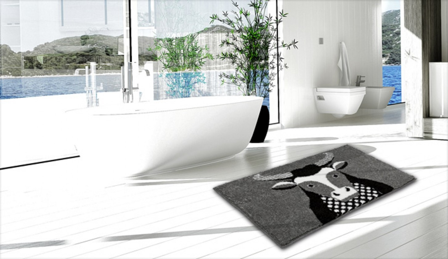 Taurus - Kúpeľňová predložka 60x90 cm (béžová)