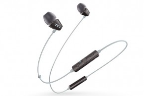 TCL bluetooth slúchadlá do uší, mikrofón, BT 4.2, čierna