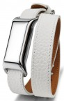 TCL MOVEBAND 2 Fashion náramek, Metal Chrome/White POUŽITÝ