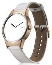 TCL MOVETIME Smartwatch, Leather, Gold/White POUŽITÝ