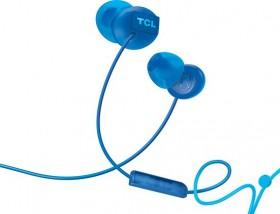 TCL slúchadlá do uší, drôtové, mikrofón, modrá