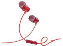 TCL slúchadlá do uší, drôtové, mikrofón, oranžová