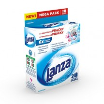 Tekutý čistič práčky Lanza A000007875, Original, 2x250ml