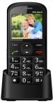 Telefón pre seniorov CPA HALO 11, čierna