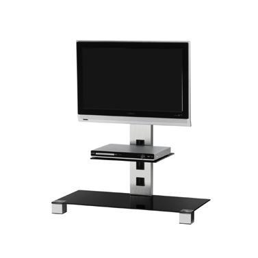 "Televízny stolík Stolík pre TV Sonorous PL 2500 C-INX, max. 42""a 30kg, nerez"