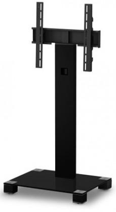 """Televízny stolík Stolík pre TV Sonorous PL 2510 B-HBLK, max. 60""""a 50kg, nerez"""