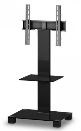 "Televízny stolík Stolík pre TV Sonorous PL 2515 B-HBLK, max. 50""a 50kg, čierny"
