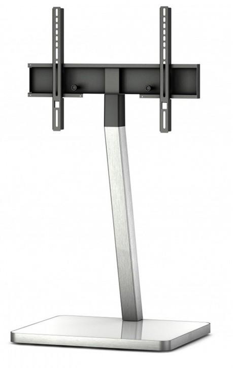 """Televízny stolík Stolík pre TV Sonorous PL 2700B-INOX, max. 55 """"a 30kg, čierny"""