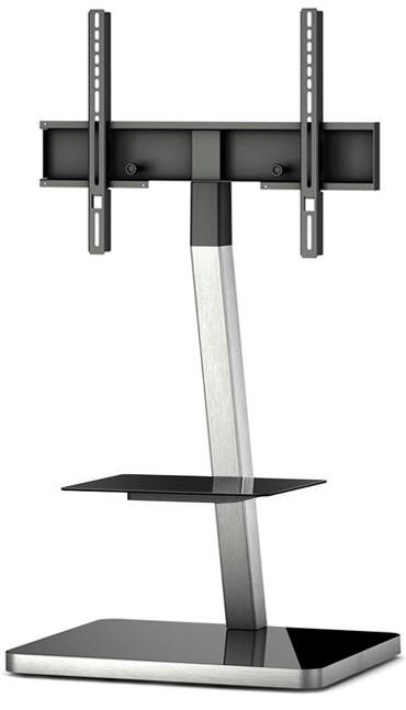 "Televízny stolík Stolík pre TV Sonorous PL 2710B-INOX, max. 55""a 30kg, nerez"