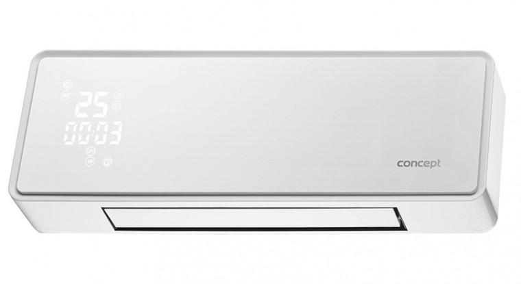 Teplovzdušný ventilátor Nástenný keramický ohrievač Concept QH4000