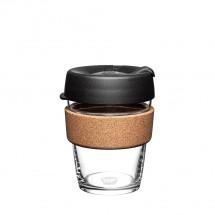 Termohrnček KeepCup Brew Cork Black M, 340 ml