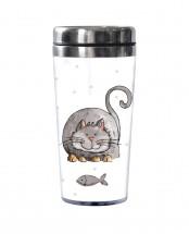 TermohrnekToro 2671231, šedivá mačka, 450ml