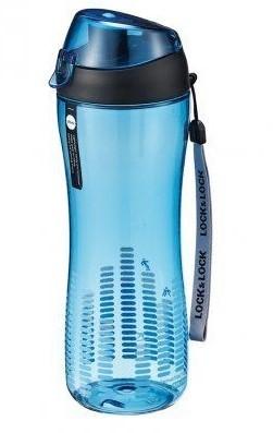 Termosky a termohrnčeky Športová fľaša na pitie Lock @ Lock ABF638B, 550ml, modrá