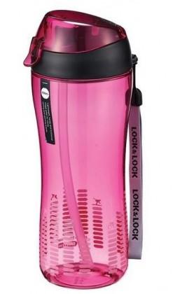 Termosky a termohrnčeky Športová fľaša na pitie Lock @ Lock ABF638P, 550ml, ružová
