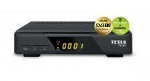 TESLA TE-301 DVB-T2 prijímač H.265 (HEVC) POUŽITÉ, NEOPOTREBOVANÝ