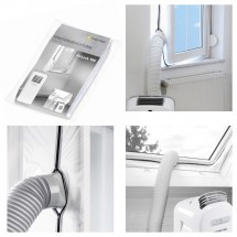 Tesnenie okien pre mobilné klimatizácie TROTEC Airlock100