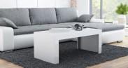 Tess - Konferenčný stolík obdĺžnik (biela)